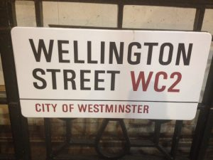 Wellington Street Covent Garden London WC2
