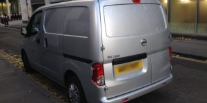 Keys locked inside van - 2014 Nissan NV200 - London EC4