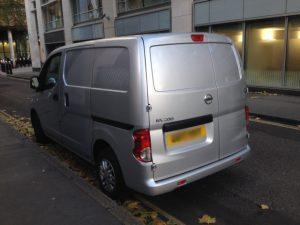 Keys locked inside van - 2014 Nissan NV200 - London EC4