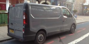 Lost van keys - Vauxhall Vivaro van (2015)