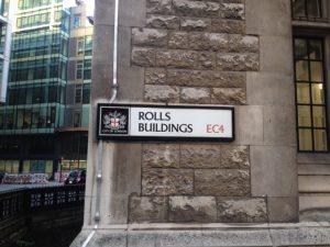 Rolls Buildings EC4