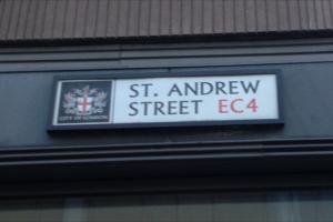 St Andrew Street EC4